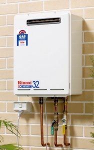 Rinnai Instant Hot Water System Wall Mounted
