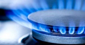 Gas Flame Stovetop